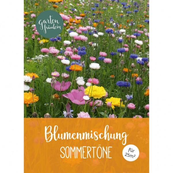 Blumenmischung Sommertöne