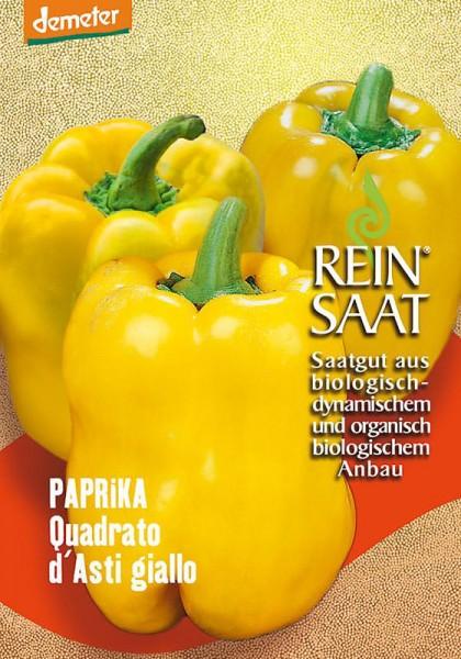 Paprika Quadrato d'Asti giallo