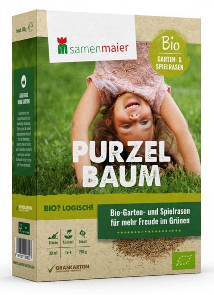 Bio Gartenrasen Purzelbaum