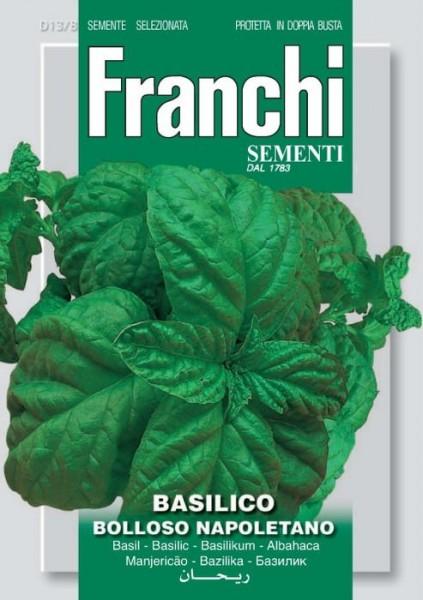 Basilikum Bolloso Napoletano