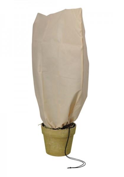 2er Pack Winterschutzhauben mit Reißverschluss u. Zugseil - Größe S