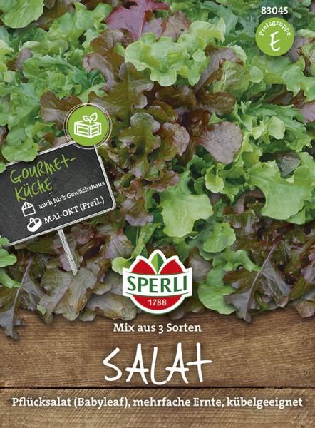 Mini-Salatmischung 3 Sorten