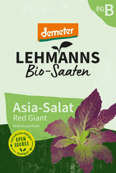 Asia Salat Red Giant