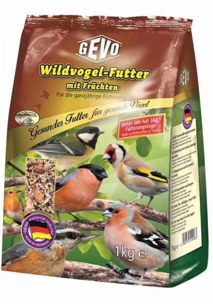 Wildvogel-Futter mit Früchten