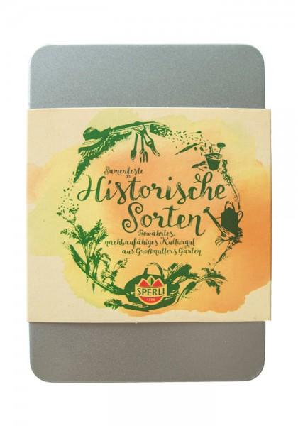 """Geschenkset Gemüse """"Samenfeste Sorten"""" inkl. 3 Stecketiketten - Möhre, Salat, Radies"""