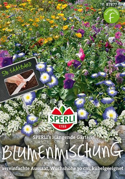 Blumenmischung SPERLING´s Hängende Gärten. 5 m Saatband