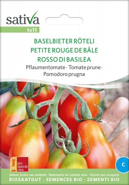 Tomate Baselbieter Röteli