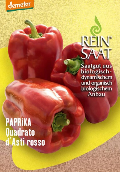 Paprika Quadrato d'Asti rosso