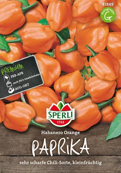 Paprika SPERLING´s Habanero Orange