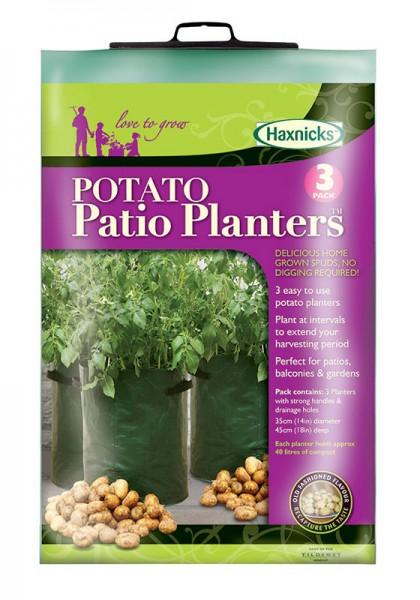 Kartoffel-Pflanzsack (3er Pack)