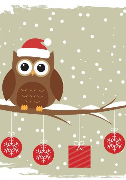 Geschenkgutschein Motiv Weihnachten