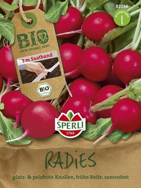 Bio-Radieschen Rudolf - Saatband
