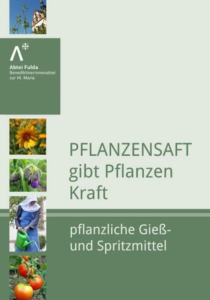 Pflanzensaft gibt Pflanzen Kraft