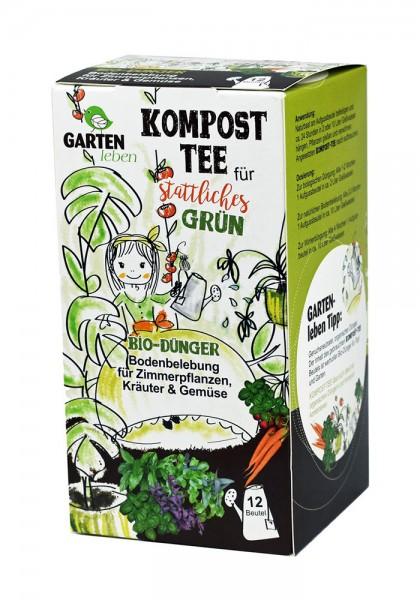Kompost-Tee für stattliches Grün