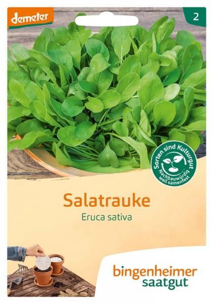 Salatrauke, 5 Saatscheiben