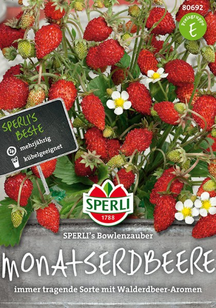 Monatserdbeeren SPERLING´s Bowlenzauber