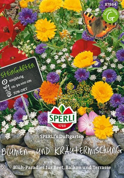 Blumen- und Kräutermischung SPERLING´s Duftgarten