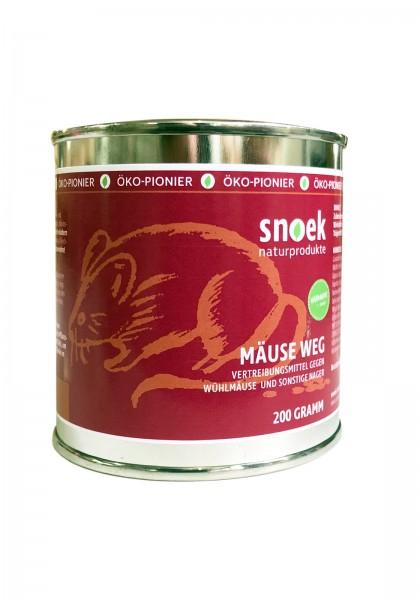 Snoek Mäuse WEG! - Hilfe auf natürliche Weise