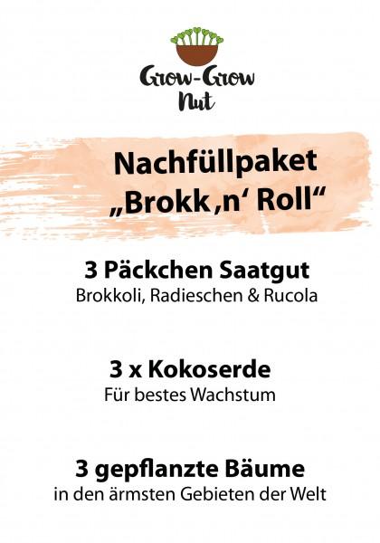 "Grow-Grow Nut Nachfüllpaket ""Brokk 'n' Roll"""