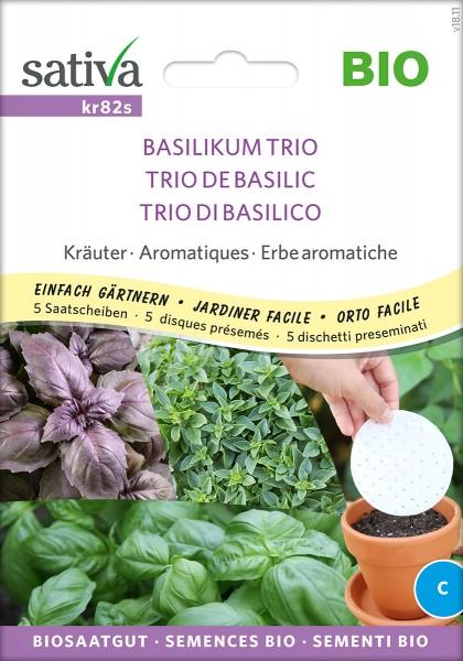 Basilikum Trio - Saatscheiben