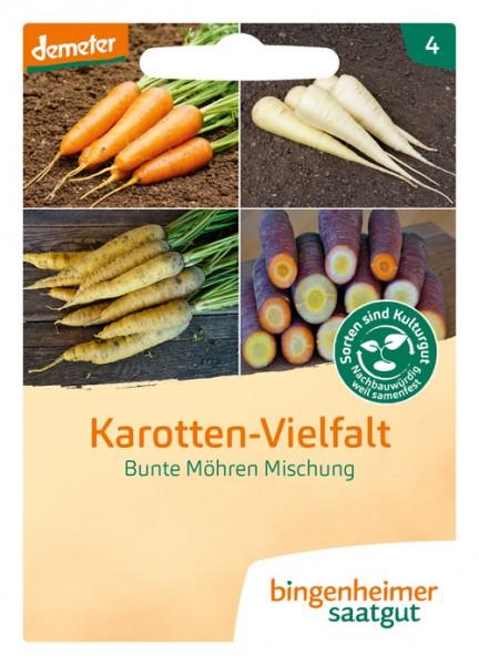 Möhrenmischung Karotten-Vielfalt