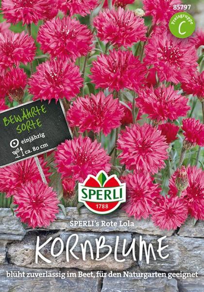 Kornblumen SPERLING´s Rote Lola