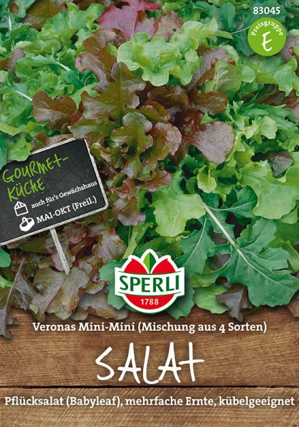 Mini-Salatmischung Veronas Mini - Mini