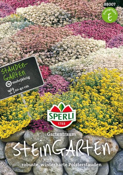 Mehrjährige Blumenmischung Steingarten Stauden
