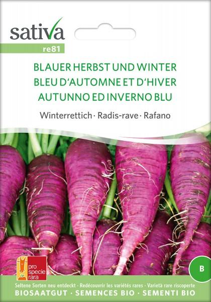 Rettich Blauer Herbst & Winter
