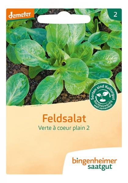 Feldsalat Verte à coeur plein
