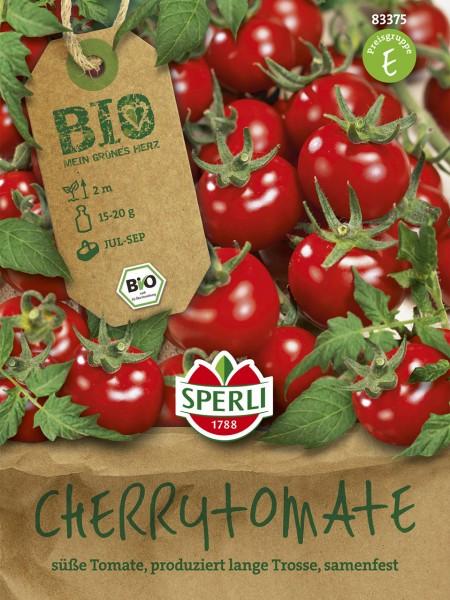 Bio-Cherrytomate Zuckertraube