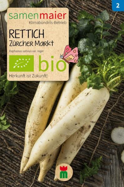 BIO Rettich, Zürcher Markt