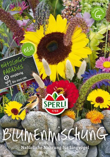 Nützlingsparadies Blumenmischung für Singvögel