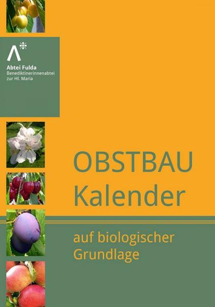 Obstbau Kalender auf biologischer Grundlage