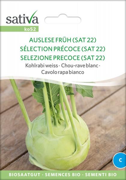 Kohlrabi Auslese früh (SAT22)