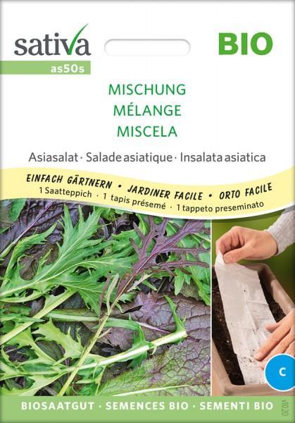 Asiasalat Mischung Saatteppich