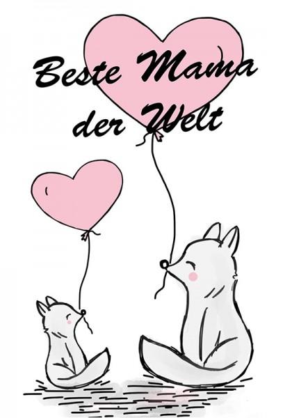 """Blumenmischung """"Beste Mama der Welt"""""""