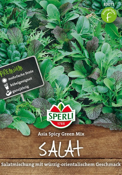 Asia-Salatmischung Asia Spicy Green Mix