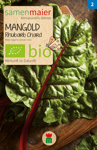 BIO Mangold, Rhubarb Chard