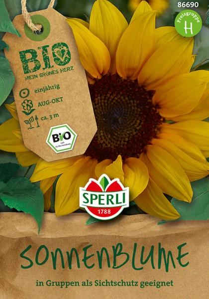 Bio-Sonnenblume