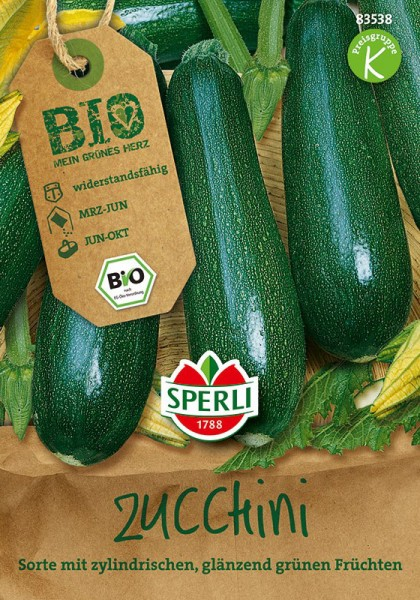 Bio-Zucchini, grün