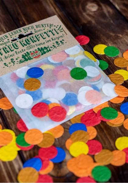 Konfetti aus Saatpapier - Blumenmischung