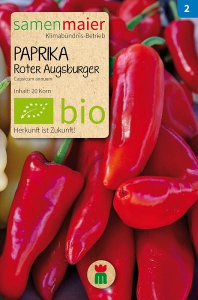 BIO Paprika, Roter Augsburger